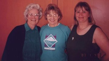 Mary Stewart, Margaret Stove & Sue